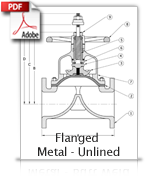 Flanged Metal Unlined