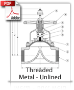 Threaded Metal Unlined
